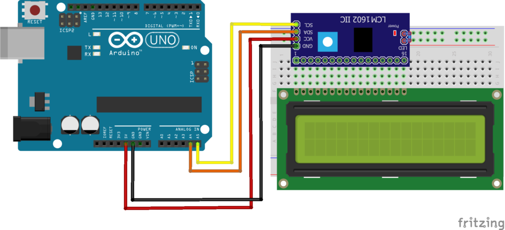 Potentiometer Lcd Arduino