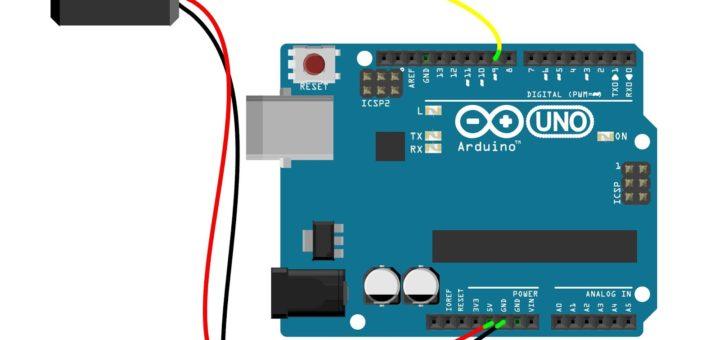 Servo control by push button switch arduino