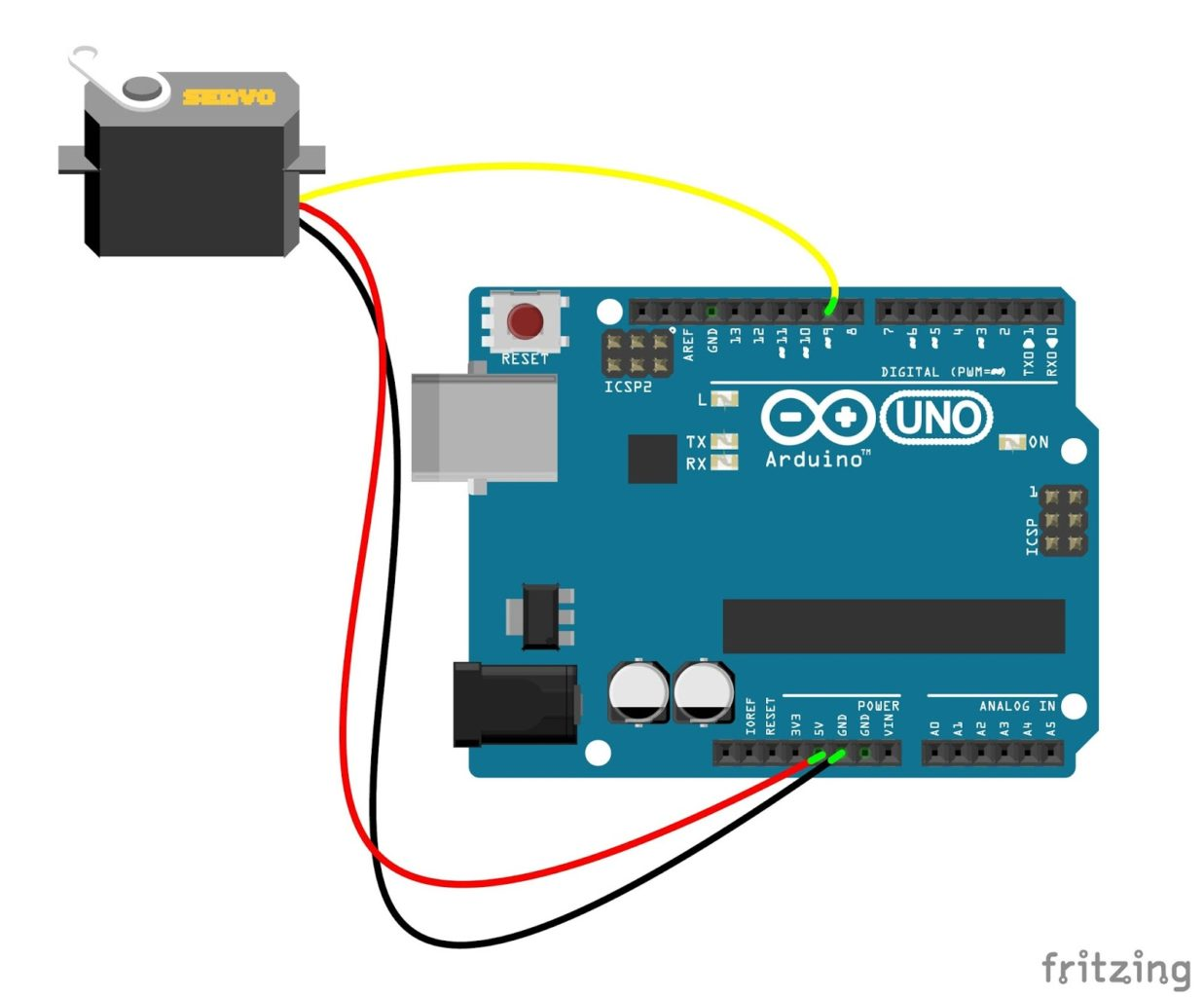 Servo Motor Control Using Arduino Is A Circuit To Speed Uses Pulse Width Modulation Pwm