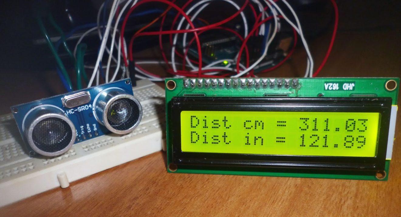 Ultrasonic Distance Measurement Using Arduino Interfacing Sensors With Pic Microcontroller