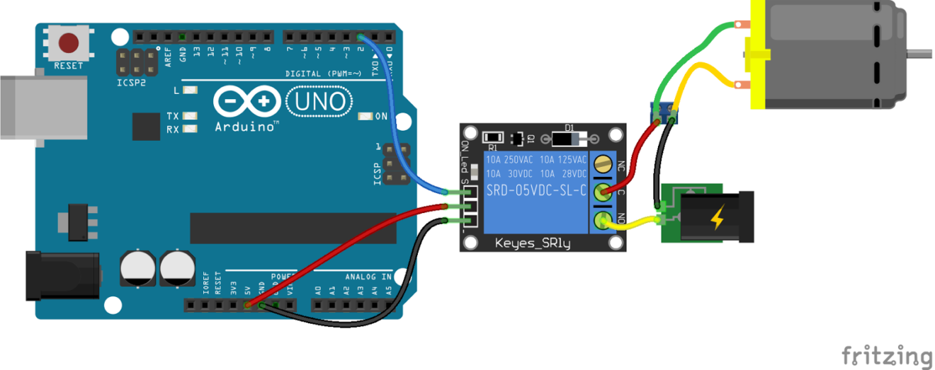 Arduino Relay Module Interfacing