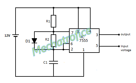 voltage controlled oscillator circuit vco using 555 rh mechatrofice com simple voltage controlled oscillator circuit simple voltage controlled oscillator circuit