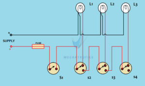 godown wiring circuit diagram and working rh mechatrofice com tunnel wiring circuit diagram tunnel wiring connection diagram