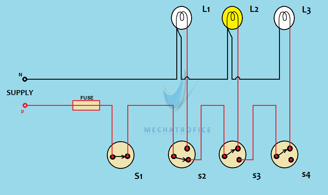Godown Wiring Circuit Diagram And Working