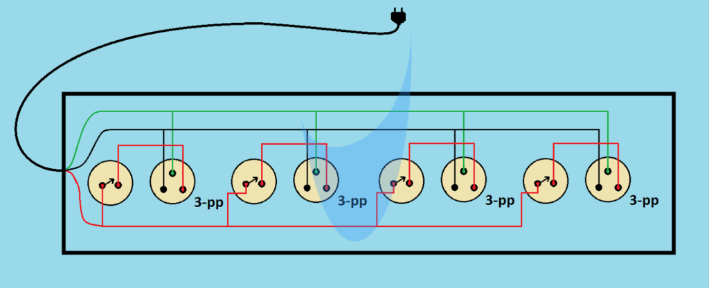 funky series vs parallel wiring ornament