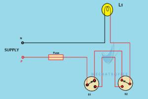[SCHEMATICS_48EU]  Staircase Wiring circuit diagram & working | Wiring Diagram Of Staircase Lighting |  | Mechatrofice