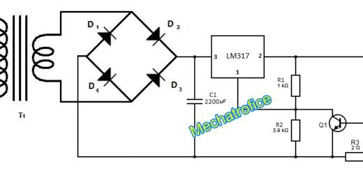infrared burglar alarm using ic 555 circuit diagram