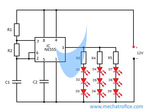 brake light flasher circuit rh mechatrofice com Emergency Flasher Wiring-Diagram Turn Signal Flasher Relay Wiring Diagram