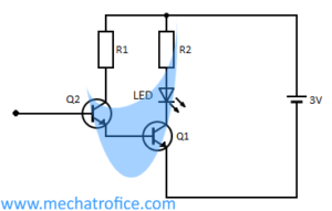 simple touch switch circuit using transistor 4017 555 ic rh mechatrofice com  simple touch sensitive switch circuit