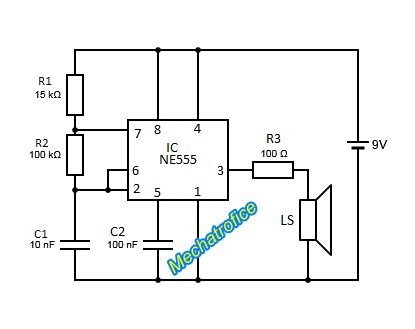 Honeywell R8222d1014 Wiring Diagram together with 555 Led Circuit Calculator in addition LED Flasher  NE555  962 besides Led Egg Light besides elonics. on 555 timer led flasher circuit