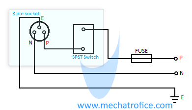 [XOTG_4463]  How to Wire a Switch Box ? Electrical Switch Board Connection | L Wiring Diagram Two Sockets |  | Mechatrofice