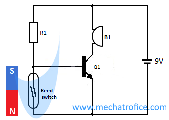 door opening alarm circuit diagram rh mechatrofice com magnetic door alarm circuit diagram door open alarm circuit diagram