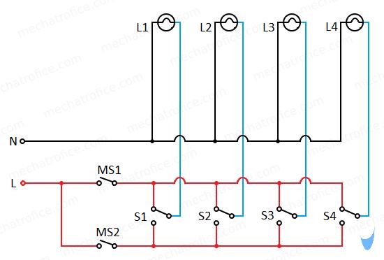 Master Switch wiring diagram   Wiring Switches And Electrical Schematics      Mechatrofice